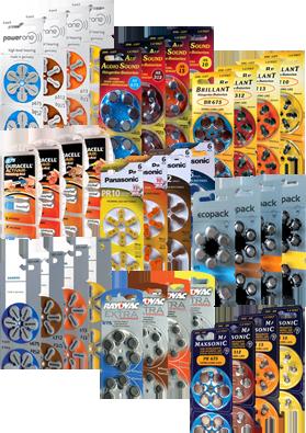 Pilas para aud fonos tipo 10 13 312 675 tb para widex ebay - Tipos de pilas de boton ...